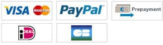Payment options: