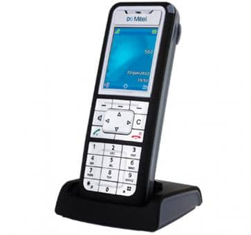 Mitel 612d V2 DECT phone with TFT colour display