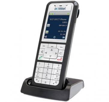 Mitel 622d DECT phone with colour TFT display