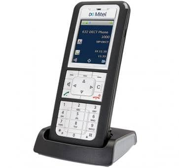 Mitel 632d DECT phone with colour TFT display
