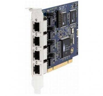 Digium B410PF BRI 4 port S0 card + HW EC