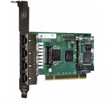 Digium TE436BF quad Span T1/E1/J1 4xPRI card PCI + HW EC
