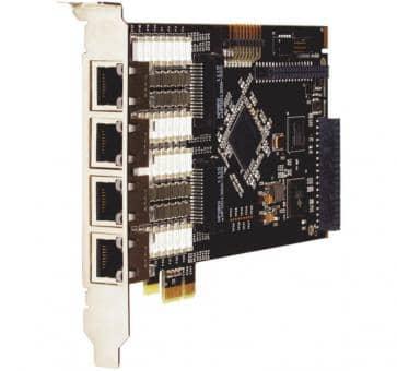 Digium TE820BF octal Span T1/E1/J1 8xPRI card PCIe + HW EC
