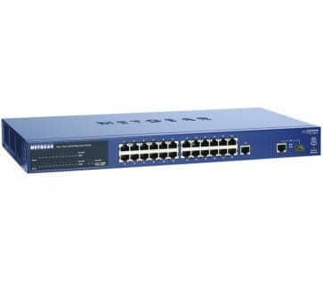 NETGEAR FS726TPEU ProSafe 24-Port Smart Switch with 2 Gigabit-Ports and PoE