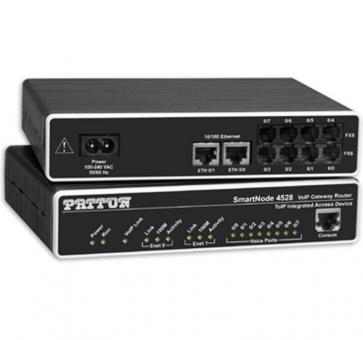 Patton SmartNode 4524 4x FXS VoIP Gateway Router SN4524/JS/E