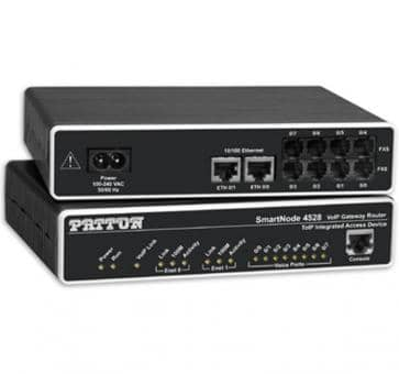 Patton SmartNode 4526 6x FXS VoIP Gateway Router SN4526/JS/E