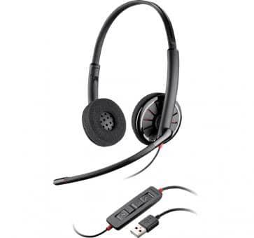 Plantronics Blackwire C320 Binaural USB Headset 85619-02