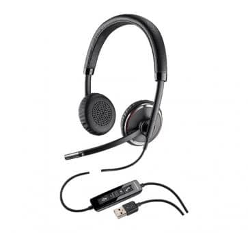 PPlantronics Blackwire C520-M Stereo USB Headset 88861-02