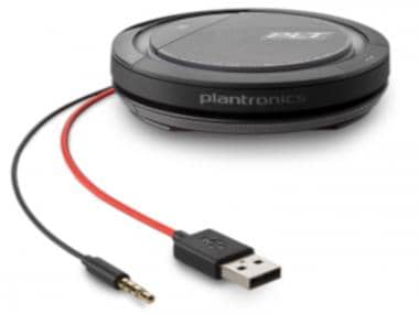 Plantronics Calisto 5200 Speakerphone USB-C 3.5mm jack 21090