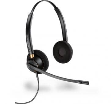 Plantronics EncorePro HW520 binaurales Headset with NC 89434-02