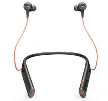 Plantronics Voyager 6200 UC DUO BT Headset black 208748-01