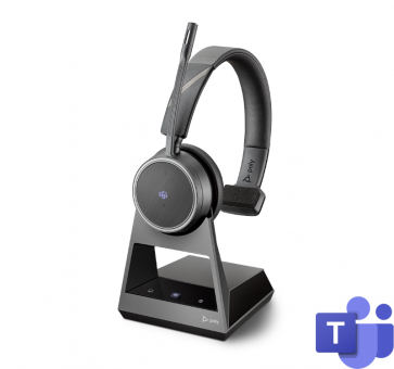 Poly Plantronics Voyager 4210 Office Headset Mono USB-C Teams Bluetooth 214601-05