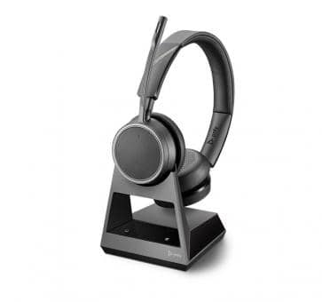 POLY Voyager 4220 V4220 CD USB-C Office Headset Duo 214592-05