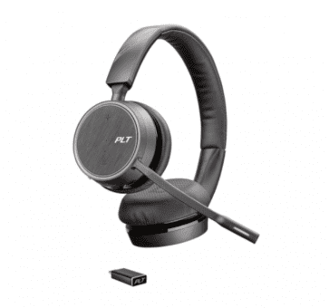 Poly Plantronics Voyager 4220 UC Headset Duo USB-C Bluetooth 211996-02