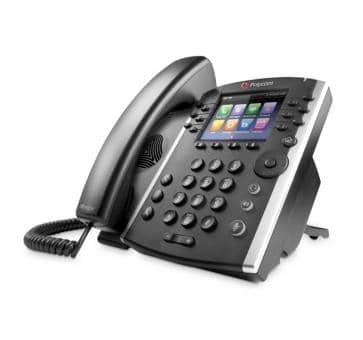 Polycom VVX400 VoIP phone PoE 2200-46157-025