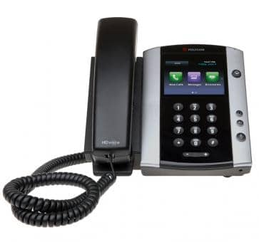 Polycom VVX500 IP phone PoE (no PSU) 2200-44500-025