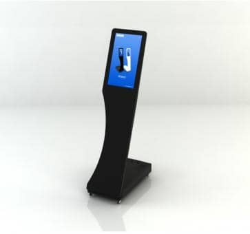 SWEDX Signo Mini-Stele Touch Screen SWSST156-A2 Digital Sign