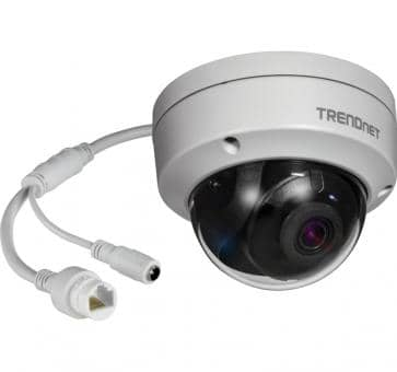 TRENDnet TV-IP317PI IP camera Indoor/Outdoor 5MP H.265 WDR PoE IR Fixed Dome 2.8mm
