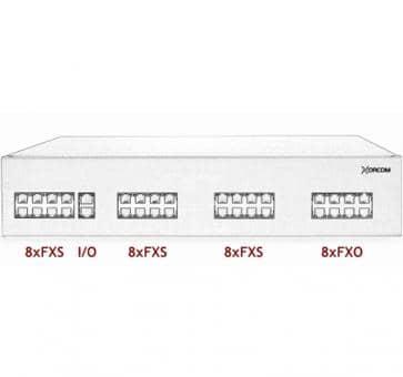 Xorcom IP PBX - 24 FXS + 8 FXO - XR2009