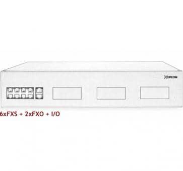 Xorcom IP PBX - 6 FXS + 2 FXO - XR2030
