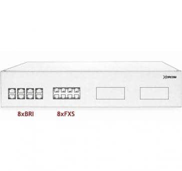 Xorcom IP PBX - 8 BRI + 8 FXS - XR2042