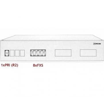 Xorcom IP PBX - 1 PRI + 8 FXS - XR2048