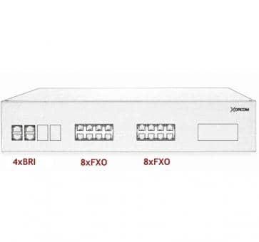 Xorcom IP PBX - 4 BRI + 16 FXO - XR2094
