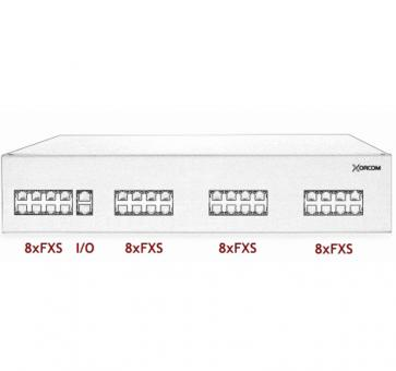Xorcom IP PBX - 32 FXS - XR3008