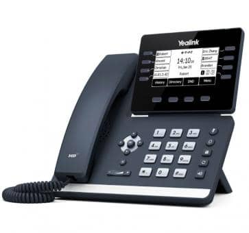 Yealink SIP-T53W SIP IP phone WiFi (without PSU)